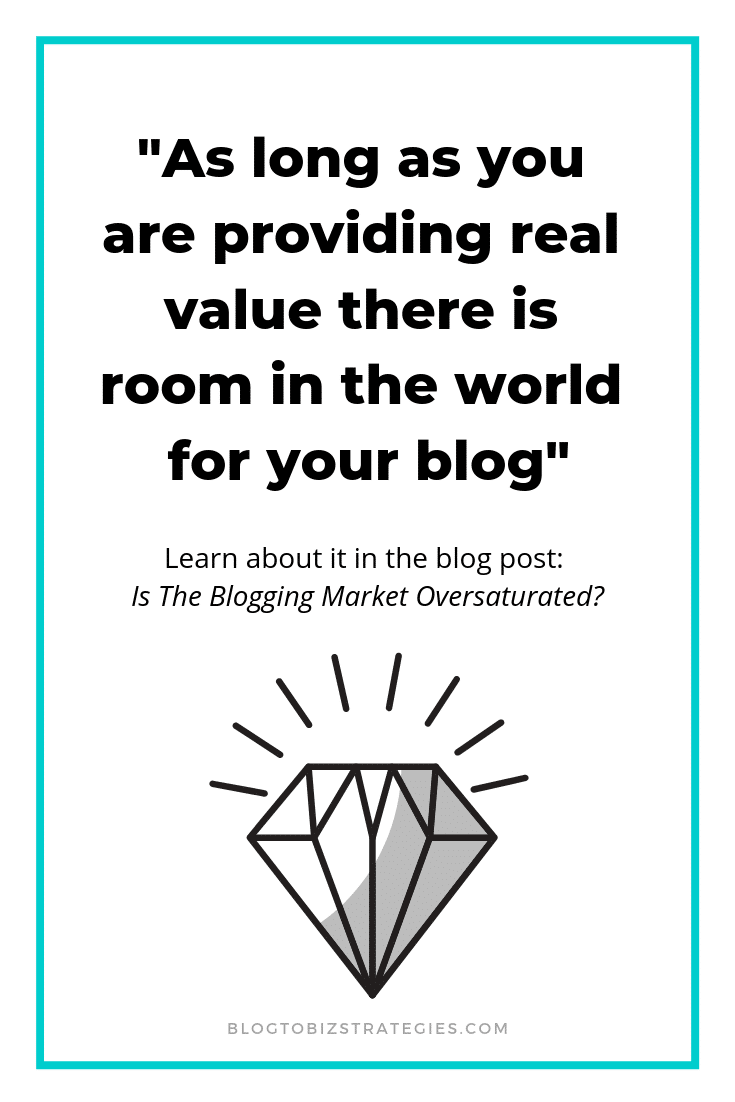 Blog To Biz Strategies | As Long As Your Are Providing Value There Is Room In The World For Your Blog