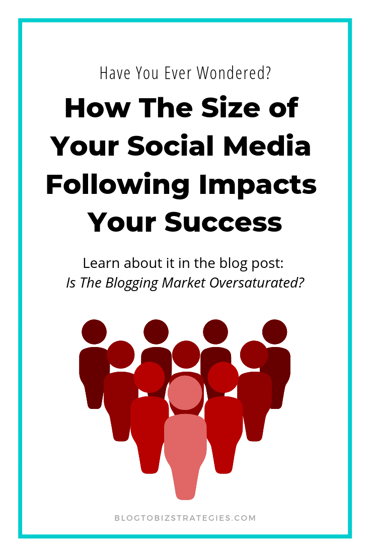 Blog to Biz Strategies | How The Size Of Your Social Media Following Affects Your Blog's Success