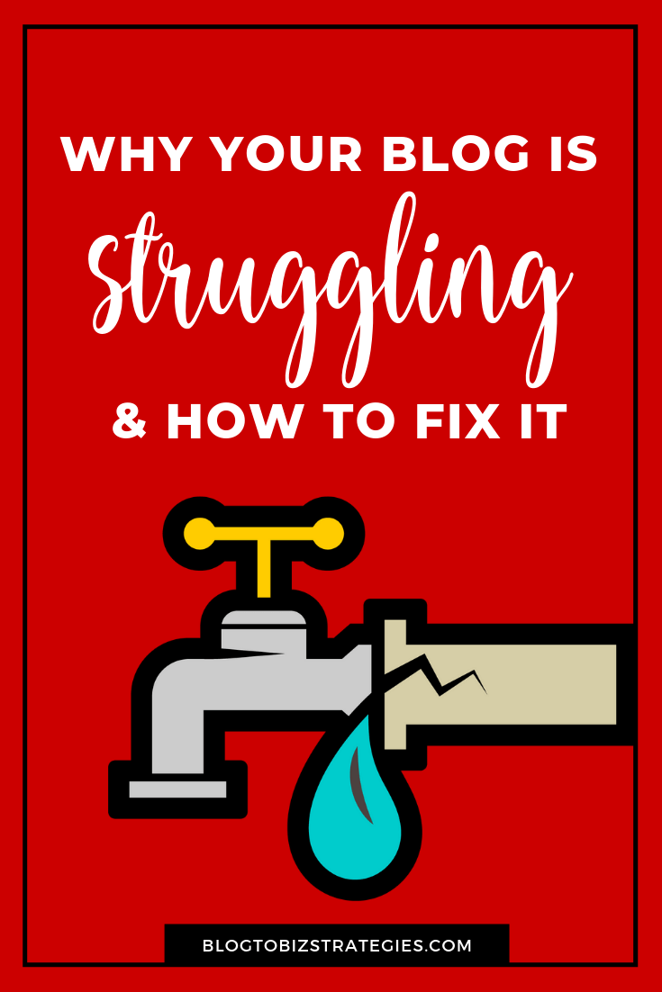 Blog To Biz Strategies | Why Your Blog is Struggling And How To Fix It by Andrea Walford (Blog)