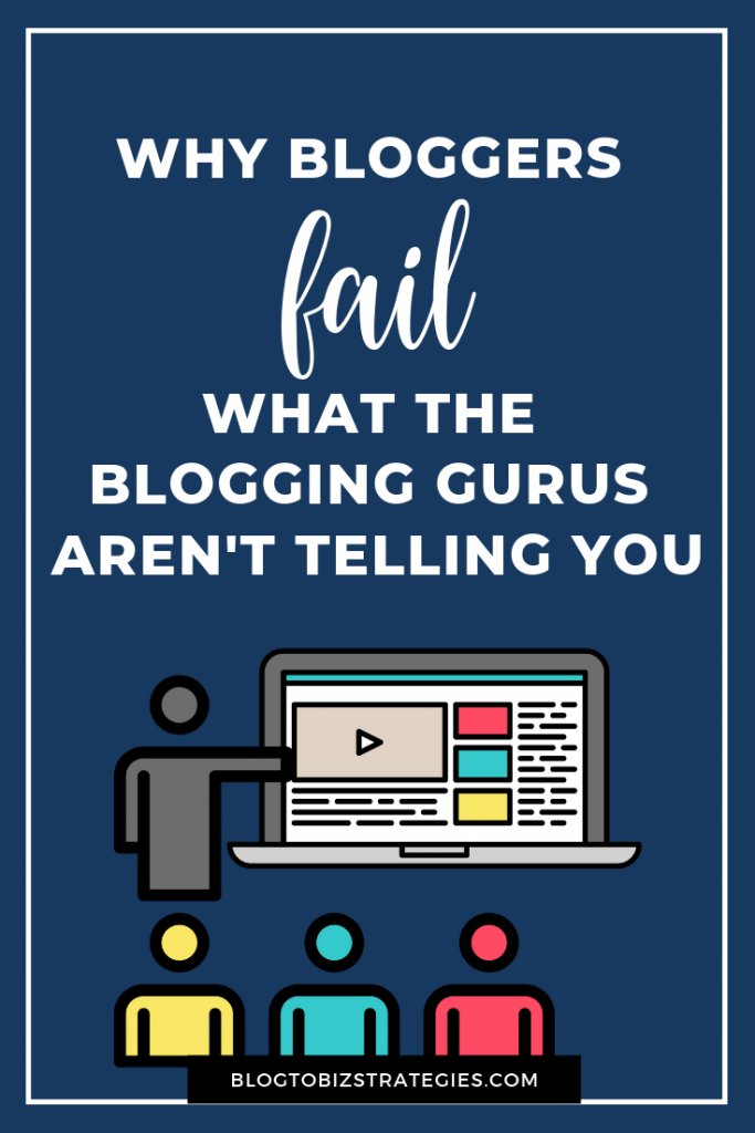Blog to Biz Strategies | Why Bloggers Fail by Andrea Walford