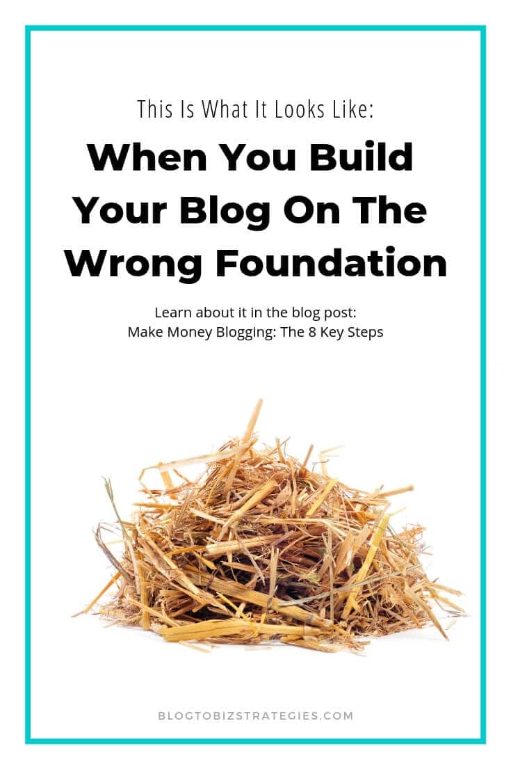 Blog To Biz Strategies | What a Blog Set Up The Wrong Way Looks Like