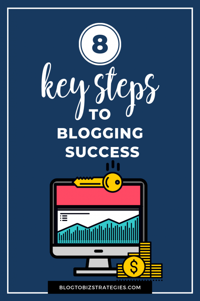 Blog to Biz Strategies | Make Money Blogging: The 8 Key Steps