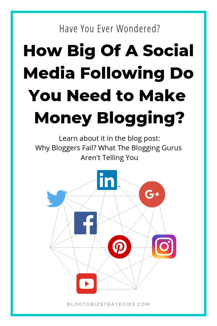 Blog to Biz Strategies | How Big Of A Social Media Following Do You Need To Make Money Blogging