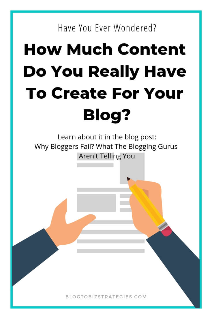 Blog to Biz Strategies | How Much Content Do You Really Have To Create For Your Blog