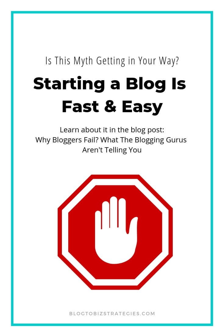 Blog to Biz Strategies | Is Starting A Blog Really As Fast And Easy As People Make It Out To Be?