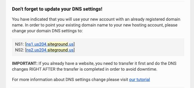 Blog to Biz Strategies | SiteGround Blog Hosting DNS